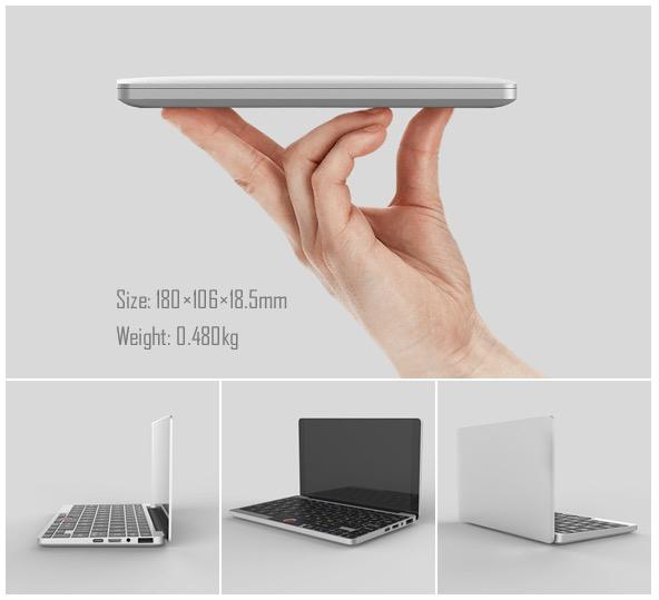 [Update] GPD: Νέο laptop τσέπης με τιμή $ 399 Mini-l10
