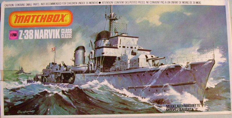 [MATCHBOX] Destroyer Z 38 classe NARVICK 1/700ème Réf PK62 S7307263
