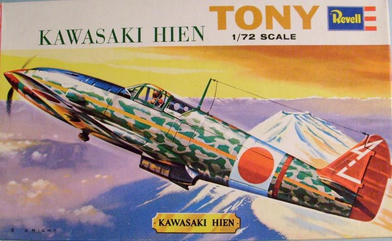 """Multi-présentation REVELL KAWASAKI Ki 61  HIEN """"TONY"""" 1/72ème Réf H621  /  NAKAJIMA Ki 43 HAYABUSA 1/72ème Réf H641 / NAKAJIMA Ki 84 1a HAYATE 1/72ème Réf H637 S7307345"""