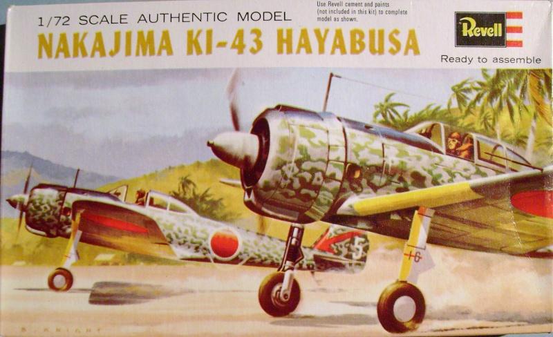 """Multi-présentation REVELL KAWASAKI Ki 61  HIEN """"TONY"""" 1/72ème Réf H621  /  NAKAJIMA Ki 43 HAYABUSA 1/72ème Réf H641 / NAKAJIMA Ki 84 1a HAYATE 1/72ème Réf H637 S7307350"""