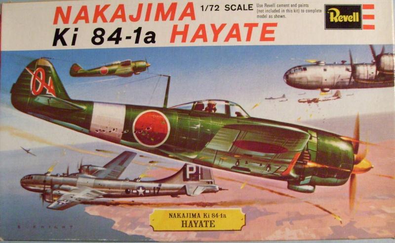"""Multi-présentation REVELL KAWASAKI Ki 61  HIEN """"TONY"""" 1/72ème Réf H621  /  NAKAJIMA Ki 43 HAYABUSA 1/72ème Réf H641 / NAKAJIMA Ki 84 1a HAYATE 1/72ème Réf H637 S7307355"""