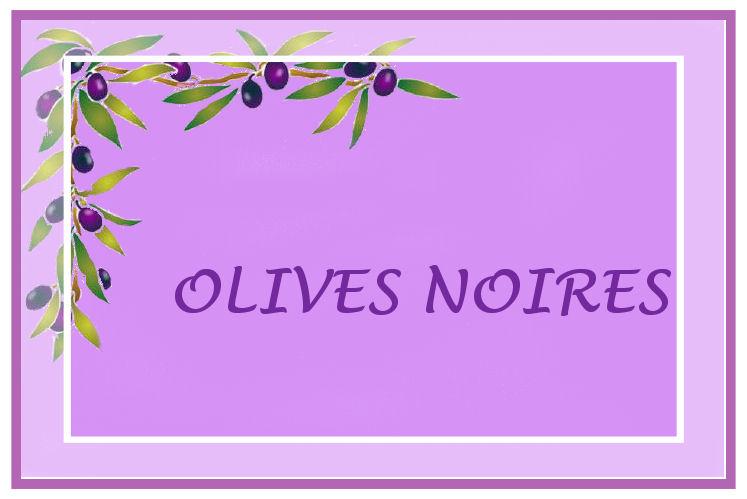 Voici des étiquette de cuisine à imprimer Incha'ALLAH Olives10