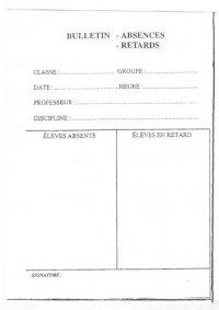 Billet d' appel N2284010