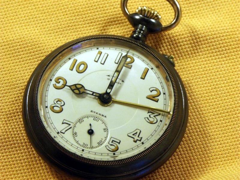 Montre de gousset réveil circa 1910 Gousse11