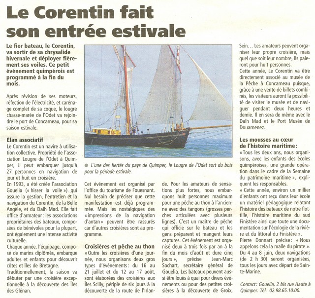 LE PORT DE CONCARNEAU - Volume 002 - Page 3 Corent10