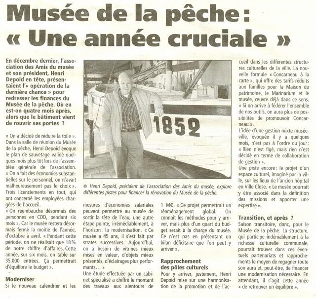 LE PORT DE CONCARNEAU - Volume 002 - Page 3 Musee10