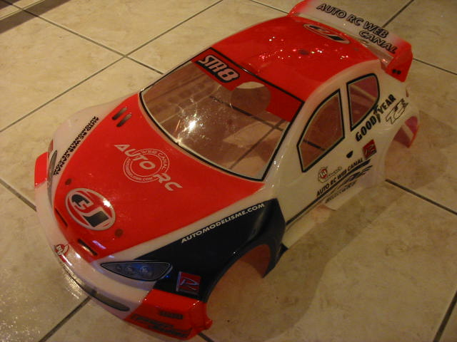 Vorza hpi brushless converti en rally game (RG) / TT Img_7210