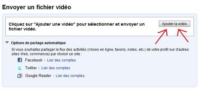 Comment poster vos vidéos Youtub11