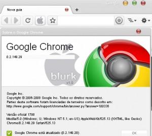 Chrome pour Mac a son gestionnaire de favoris Chrome10