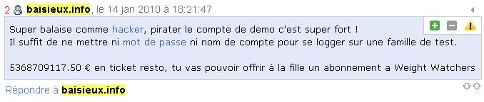 baisieux.info le site de la mairie mal sécurisé Faille10