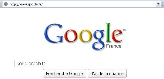 L'interface de Google évolue légérement Google10