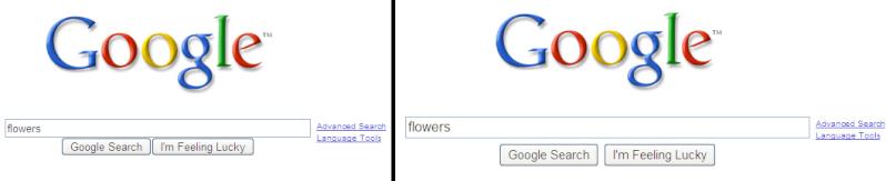 L'interface de Google évolue légérement New-ol10