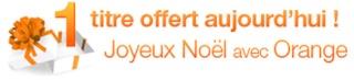 Orange Music Store 1 musique gratuite par jour Offre-10