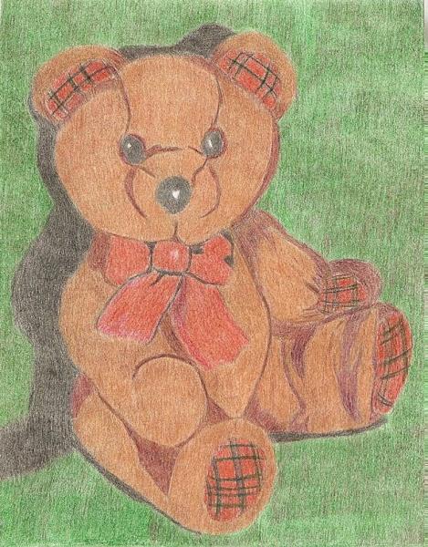 ours en peluche au cc Numeri10