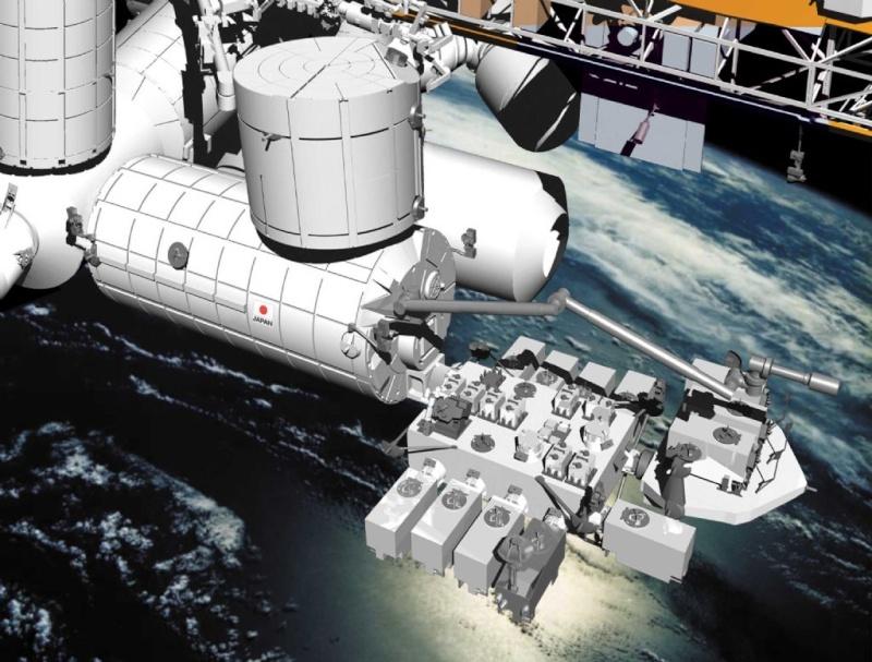 Le module Kibo est livré au KSC P-019-10