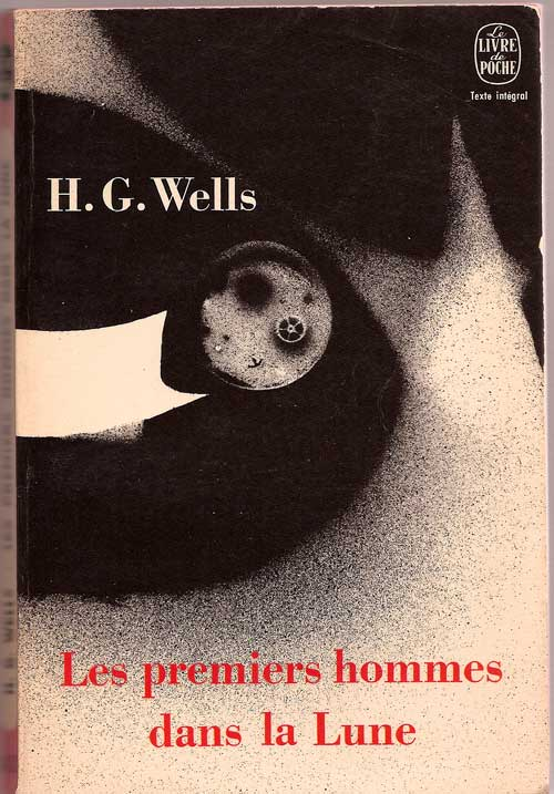 "Livre ""The first men IN the Moon"" de H.G. Wells Untitl78"