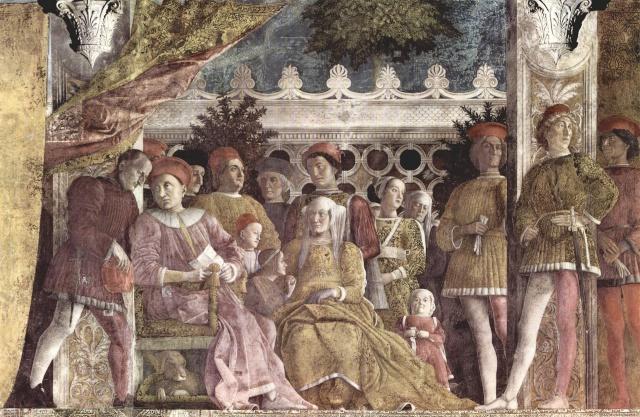 ANDREA MANTEGNA / Fresques de la Camera degli Sposi Andrea10