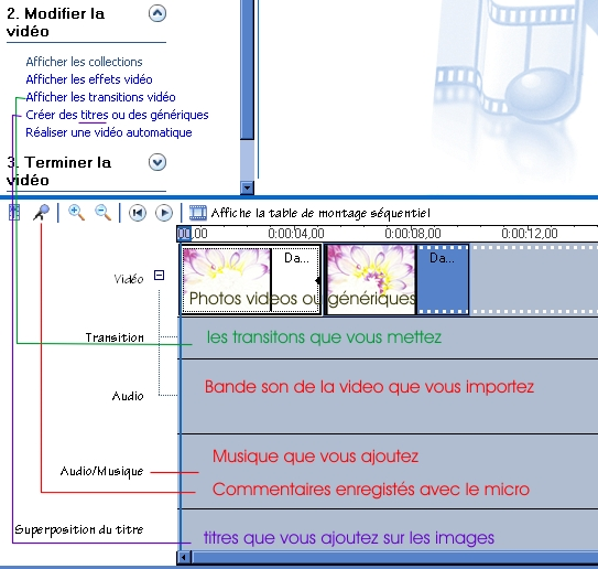 Comment faire un montage video Wmm110