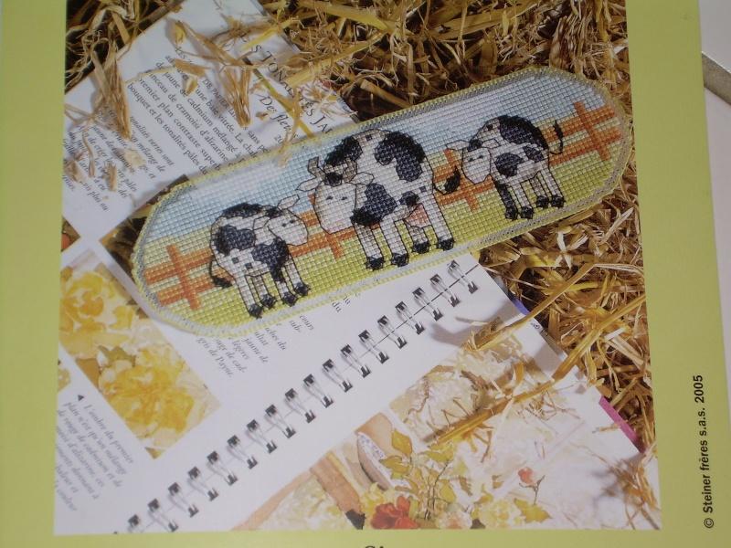 """Le marque page """"vaches"""" de Titia67 Dscn0110"""