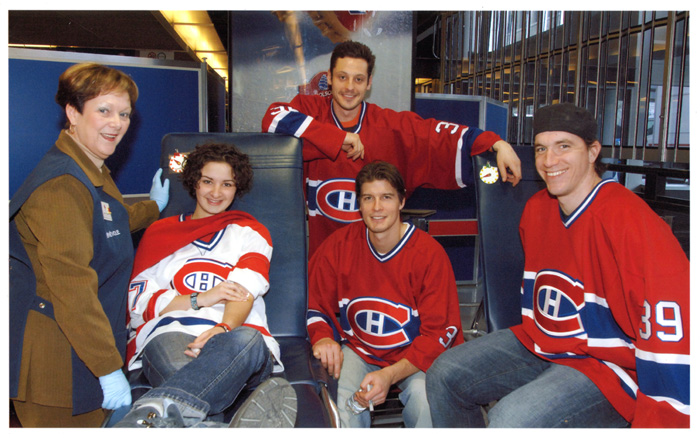 24th Canadiens Blood Collection Cbc-bo11