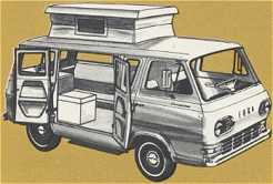 """Fourgon Ford """"Econoline"""".... Campin10"""