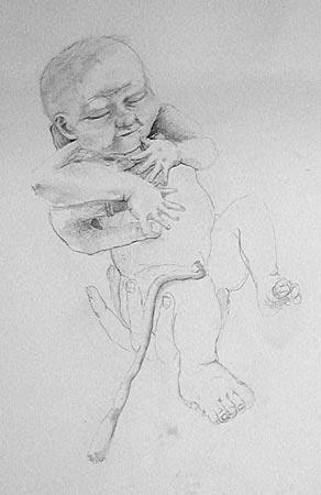 Dessins de sculpteurs - Page 3 Bebe_c11
