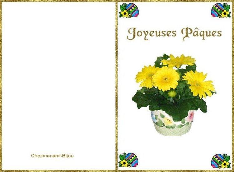 Cartes de joyeuse Pâques. Carte_10