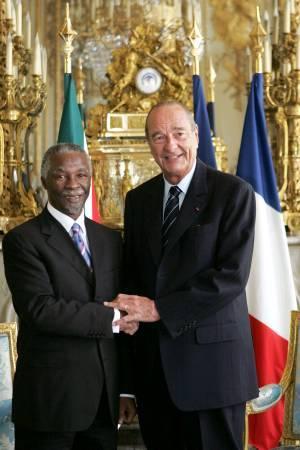 Ne pas oublier l'Afrique ! Chirac17