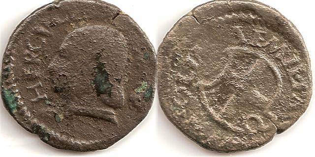 Hercule I d'Este pour Reggio Emilia type 2 (1471-1505) Croix110