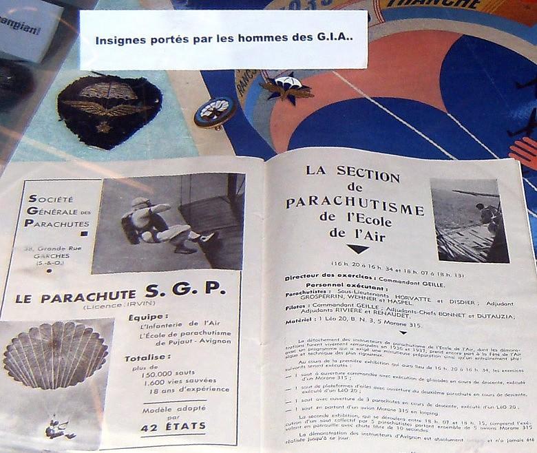 601ème & 602ème Groupe d'Infanterie de l'Air : Paras 1935-40 Hpim5310