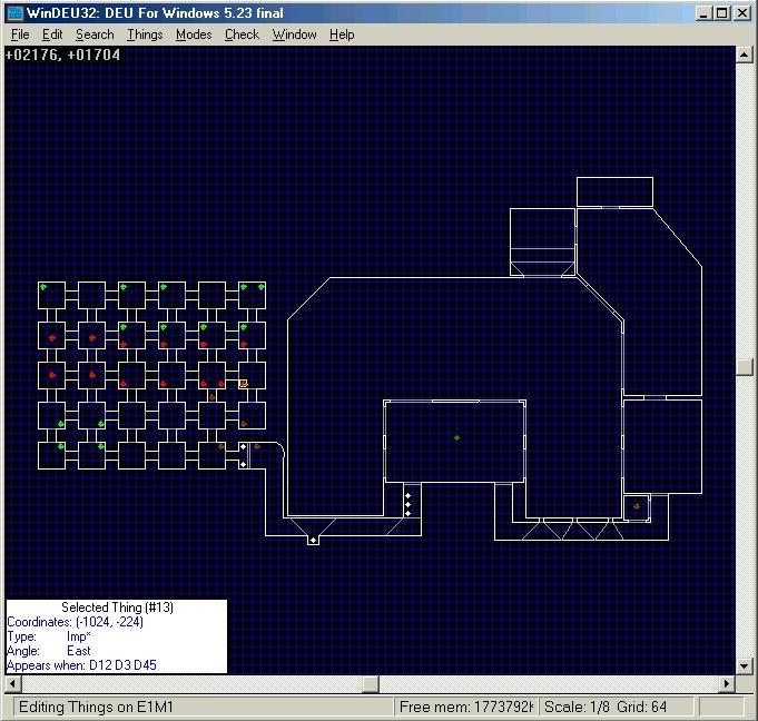 Construction de niveau Doom et Doom 2 Windeu10
