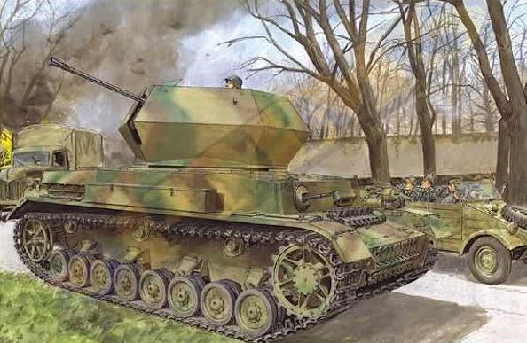 Flakpanzer IV Östwind 121u5h10