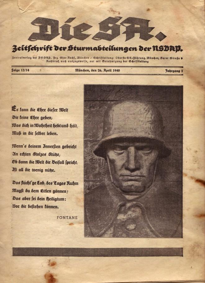 "les S.A ""Sturmabteilung"" 20389910"