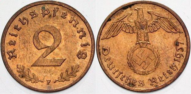 Le Reichsmark - (1924/1948) 2reich10