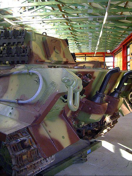 Tiger II  - Munster Museum - DE 450px-10