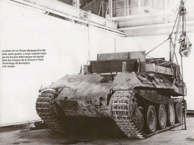 Bergepanzer V Bergepanther 4n009910