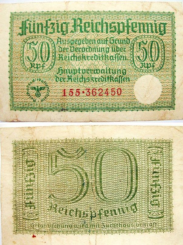 Le Reichsmark - (1924/1948) 50_rei10