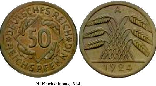 Le Reichsmark - (1924/1948) 50_rei11