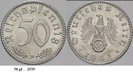 Le Reichsmark - (1924/1948) 50reic10