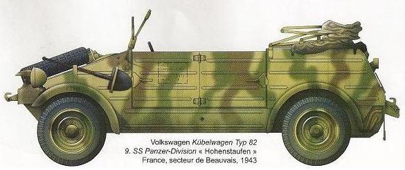 Volkswagen Kübelwagen 781910