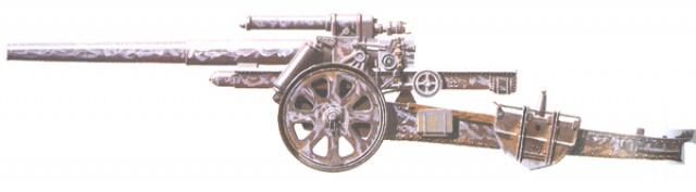 Obusier 15 cm schwere Feldhaubitze 18 92105910