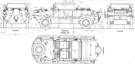 Volkswagen Schwimmwagen Aanz1210