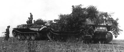 Bergepanzer V Bergepanther Bergep12