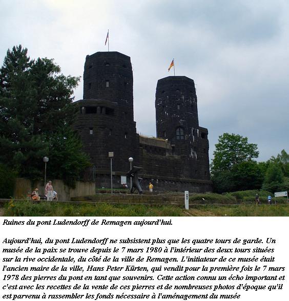 7 mars 1945 - Le pont Ludendorff à Remagen Brueck11