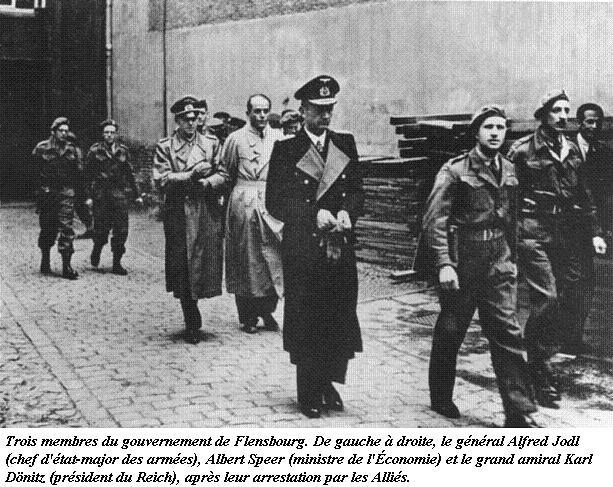 Le Gouvernement de Flensbourg - 1945 Bunde102