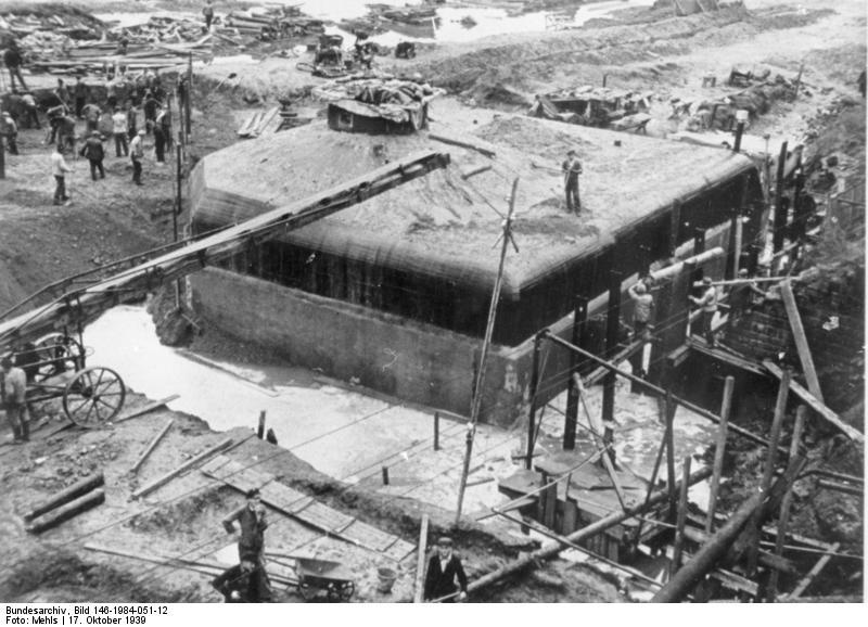 Ligne Siegfried - Der Westwall Bunde104