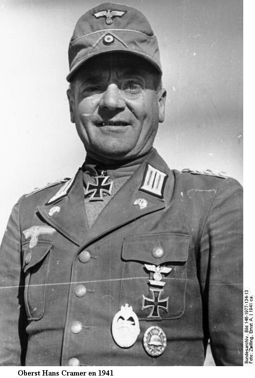 Hans Cramer Bundes40