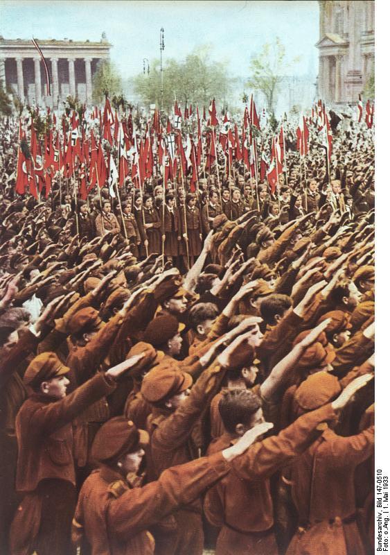 Le Salut Fasciste Bundes50
