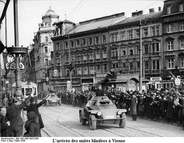 12 mars 1938 - Anschluss de l'Autriche Bundes65