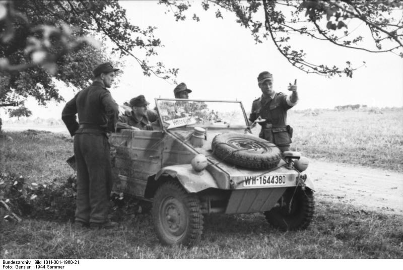 Volkswagen Kübelwagen Bundes76